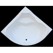Ванна акриловая AQUASOLO ABTM-13500.WH 1350х1350мм белая угловая