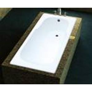 Ванна чугунная MARCO POLO 1500x700x420мм, без ручек, с ножками в комплекте, цвет: WH (белый)