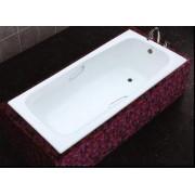 Ванна чугунная с ручками MARCO POLO 1800x800x420мм, с ножками в комплекте, цвет: WH (белый)