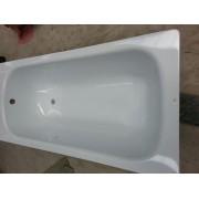 Ванна стальная AQUASOLO ABTJ-30005.WH 1500x700x390мм без ручек белая