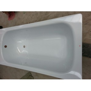 Ванна стальная AQUASOLO ABTJ-50002.WH 1200x700x360мм без ручек белая