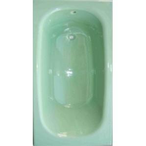 Ванна чугунная MARCO POLO 1500x700x420мм, без ручек, с ножками в комплекте, цвет: LG (светло-зелёный)