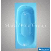 Ванна чугунная MARCO POLO MBTZ-50115.SB 1500x700x420мм без ручек небесно-голубой