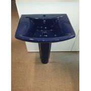 Умывальник с пьедесталом HUIDA HD201В, цвет: DB (фиолетовый)