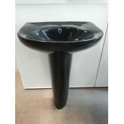Умывальник с пьедесталом HUIDA HD203, цвет: BK (черный)