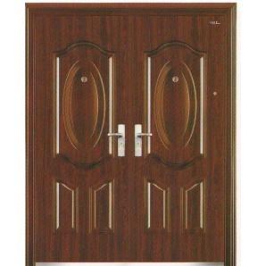 Дверь металлическая  MDSF-00010,  левая, 2050х1500 мм.