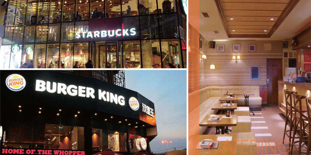 Освещение кафе и ресторанов