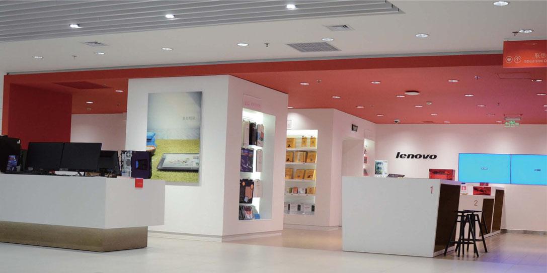 Освещение компьютерных магазинов
